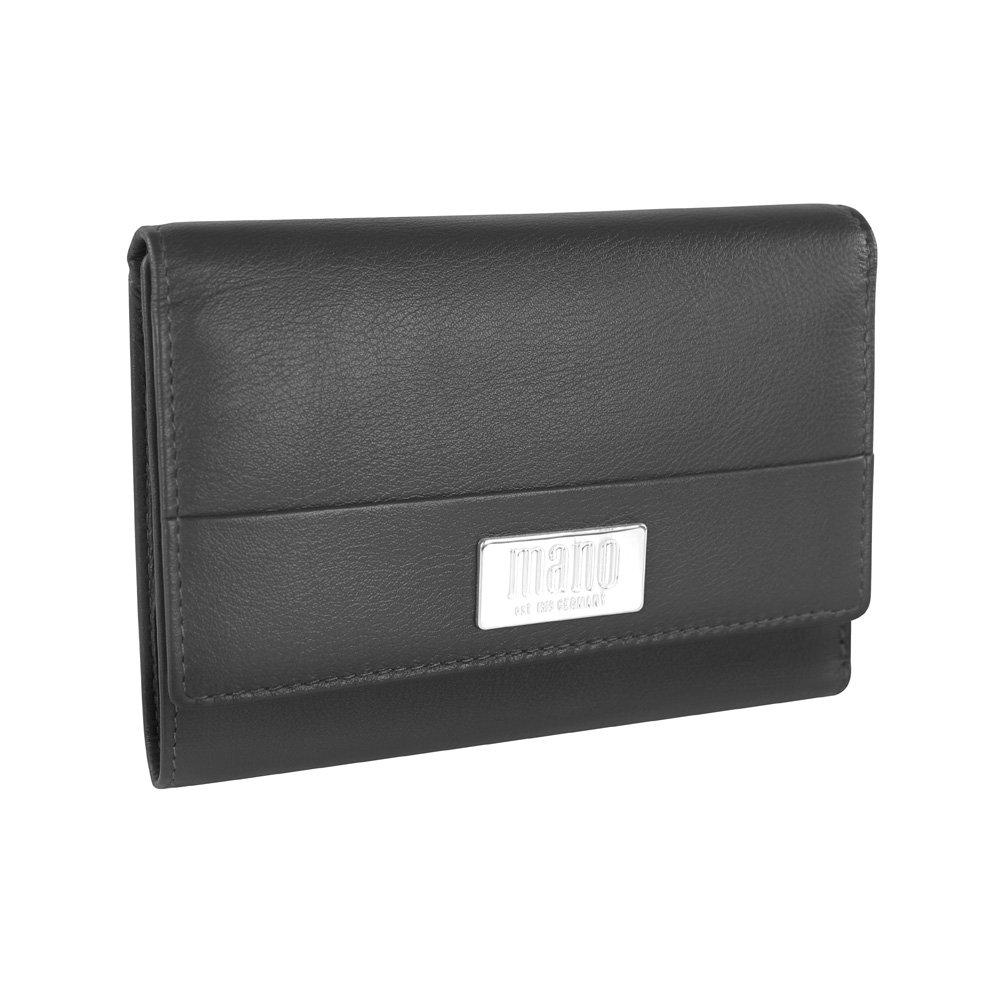 Mano Coin Pouch, 14 cm, Black 2047186 M20051BK