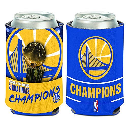 WinCraft Golden State Warriors 2018 NBA Finals Champions 12oz. Can Cooler by WinCraft