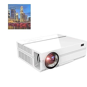 GJZhuan T26 Proyector LED HD 1080P Micro Proyector 4K ...