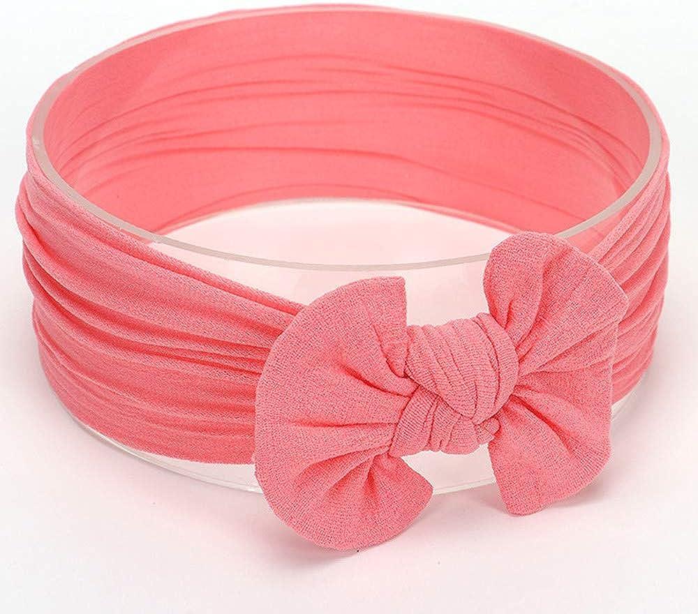 Huhu833 Baby Stirnb/änder Cute Baby Kleinkind Infant Circle Stirnband Stretch Haarband Headwear Wassermelone Rot