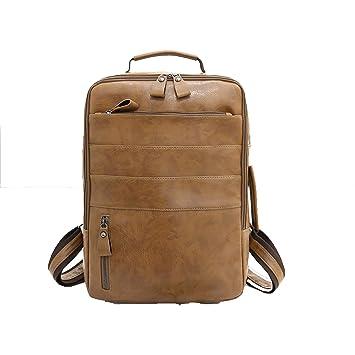 Hemio Hombres Simples Bolsas Grandes Backpack Waterproof ...