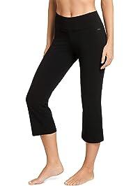 Jockey Women's Slim Capri Flare Athletic Pant