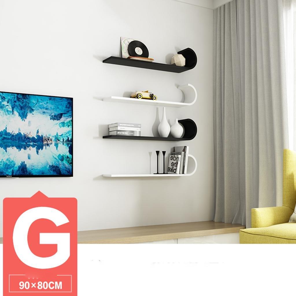 Kitzen Kreative Wand Wand Rack Wohnzimmer Mit Einfache Wände Blume ...