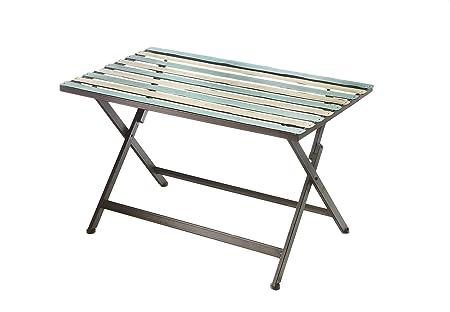 Tavoli Da Giardino Vintage.Tavolo In Metallo Tavolo Da Giardino Vintage Tavolo Multicolor