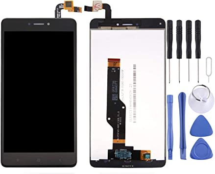 Weeksu Nuevo for Xiaomi Redmi Note 4X / Redmi Note 4 Versión Global Snapdragon 625 Pantalla LCD y ensamblaje Completo del digitalizador (Negro) (Color : Black): Amazon.es: Electrónica