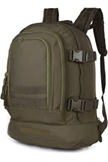 Tactical Rucksacks Backpack Expandable Large 3 Day Assault Pack Army Molle Water Resistant Comfortable Daypack with
