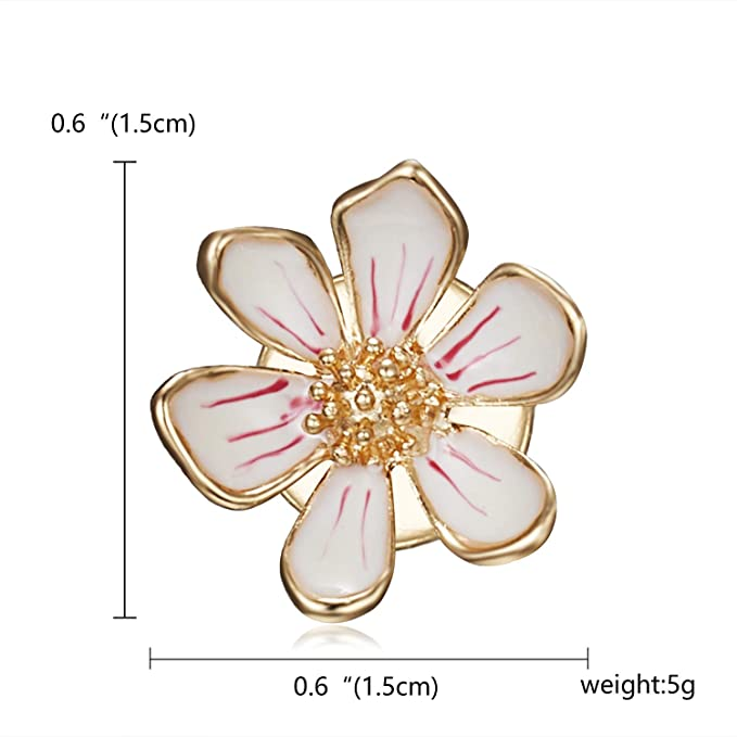 6e3a4e0238b Image Unavailable. Image not available for. Color  Elegant Tulip Flower  Brooch Pin Crystal Costume Jewelry Clothes Accessories Jewelry Brooches for  Wedding ...