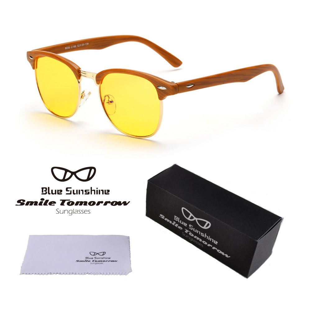 HD Night Driving Glasses Anti Glare Safe Night Vision Sunglasses 49)