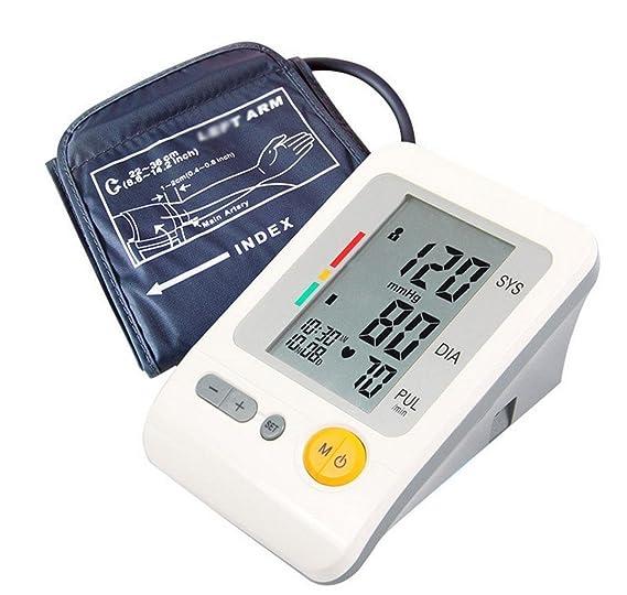 D&F TensióMetro De Brazo, Indicador De IHB De DeteccióN De Frecuencia Cardiaca Y Pulsos De Memoria De 4 * 30 Grupos Monitor De Frecuencia CardíAca Digital ...
