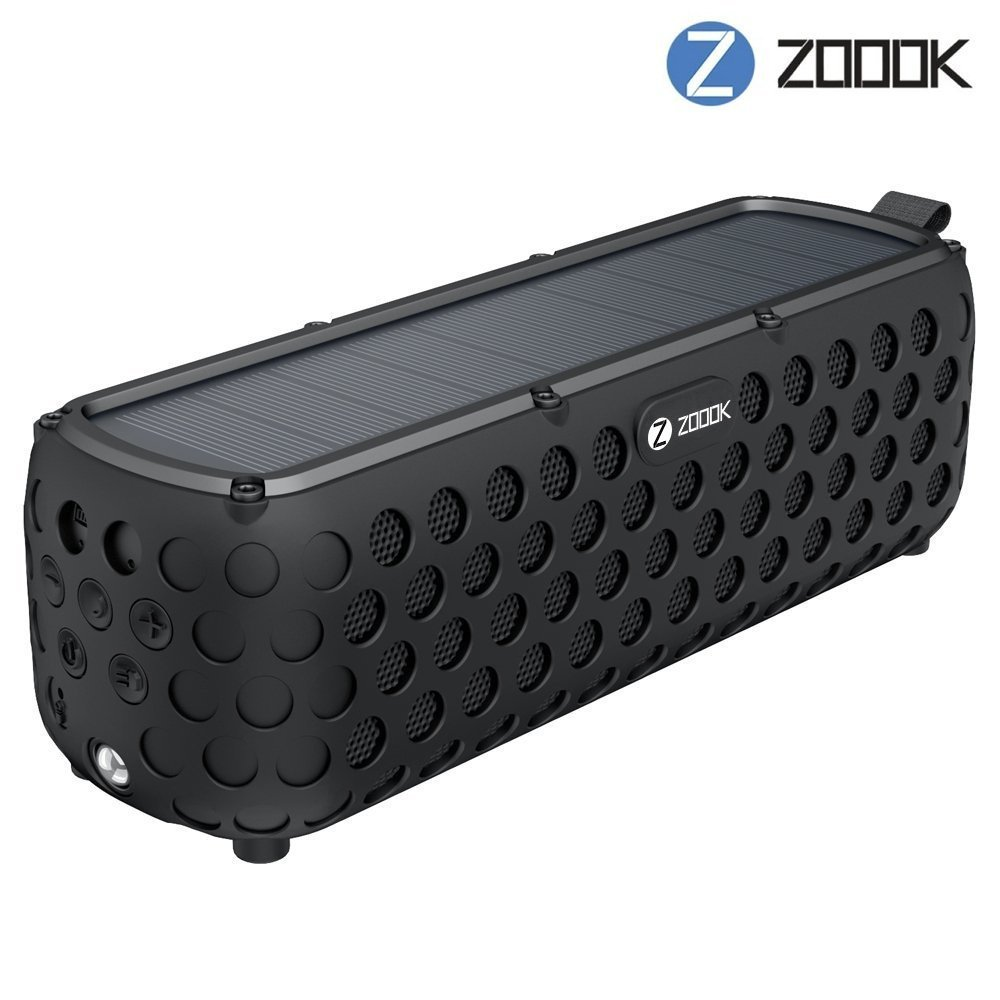 Zoook Solarmuse Bluetooth Speaker with 30hrs. of Music