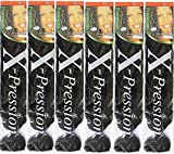 X-pression Premium Original Ultra Braid. - Color 1 ( Pack of 6 )