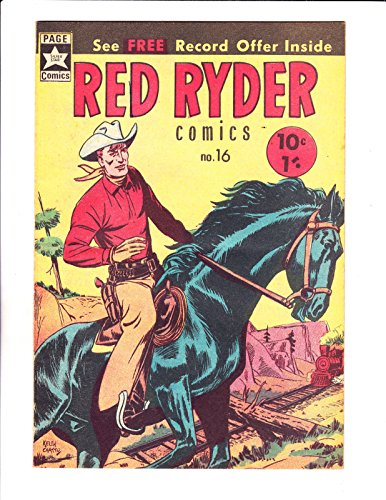 (Red Ryder Comics No 16 -1960's - Australian -