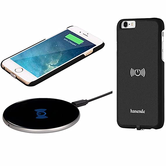 Amazon.com: Cargador inalámbrico kit para iPhone 6, hanende ...