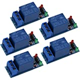 UEB 5Pcs 1-Channel 5V Relay Module Shield for Arduino 1280 2560 ARM PIC AVR DSP