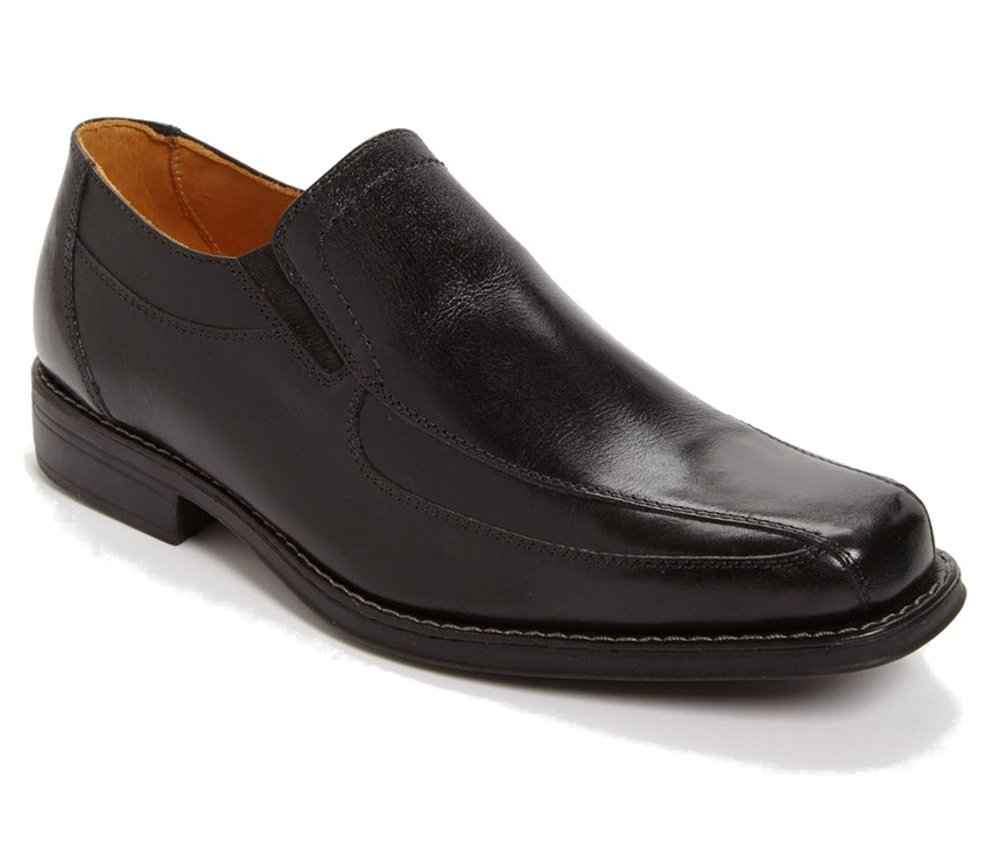 Sandro Moscoloni Men's Berwyn Slip On Shoe (Black, 10.5) by Sandro Moscoloni