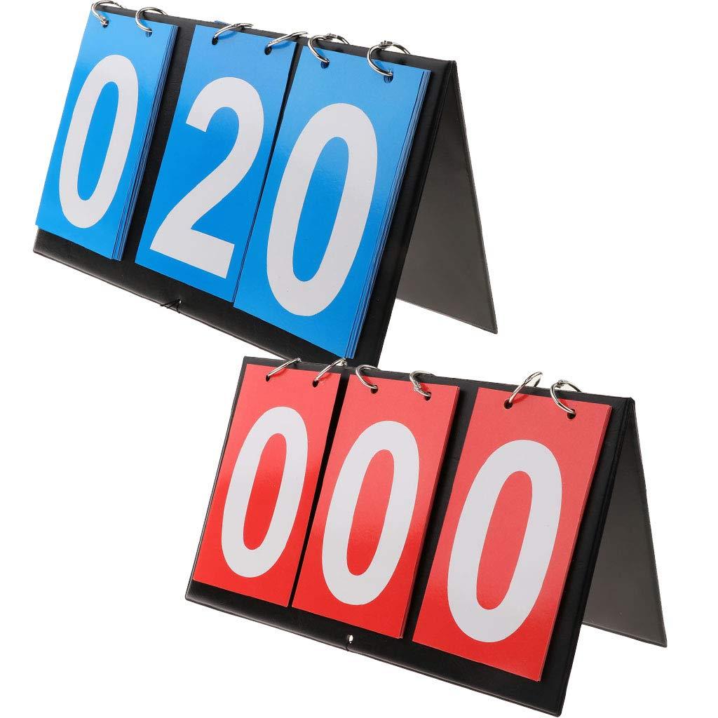 Toygogo 3-Digital Badminton Table Tennis Basketball Scoreboard Table Top Style