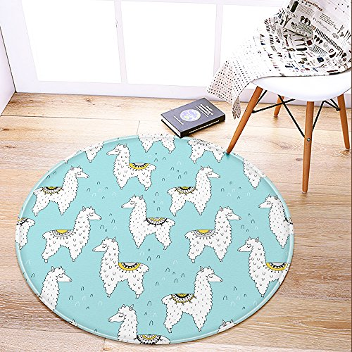 LEEVAN-Creative-Galaxy-Series-Round-Area-Rug-Anti-Slip-Backing-Soft-Carpet-Kids-Play-Mat-for-Living-Room-Study-Bedroom-Children-Room-Home-Decor-3-Feet-Diameter