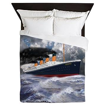 Cafepress Rms Titanic Die Legende Queen Bettbezug Bedruckt
