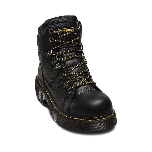 6556cc2c6c3ac Amazon.com: Dr. Martens Industrial Lace, 8-10i, 160cm-EA, Black, 160 cm M  US: Shoes