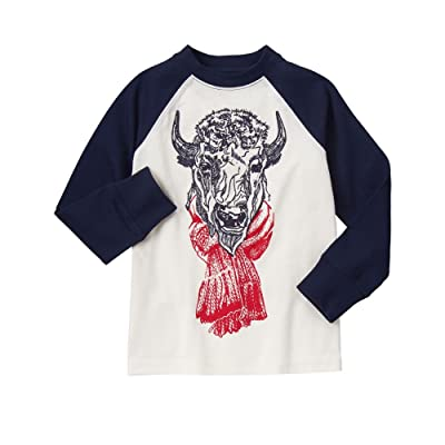 Gymboree Boys' Buffalo Raglan Tee