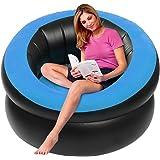 Amazon Com Blochair Inflatable Chair Transparent Clear