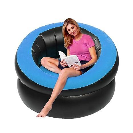 Amazon Com Letsfunny Inflatable Lounge Chair Portable Inflatable