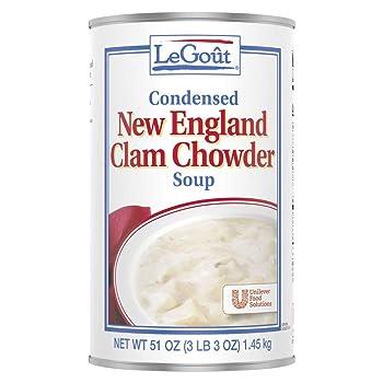 LEGOUT 51oz New England Clam Chowder