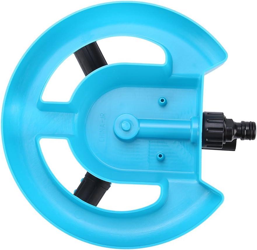 der gro/ßes Gebiet dreht TOPINCN Rasensprenger Garten Wassersprinkler Bew/ässerungssystem 360 /° voll 3 D/üsen-Kreis Blue