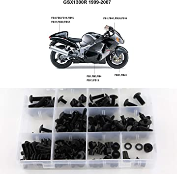 R6 2006 2007 Xitomer Motorcycle Accessories Full Fairing Bolts Screws Kits Washer Fastener for Yamaha YZF R6 YZF