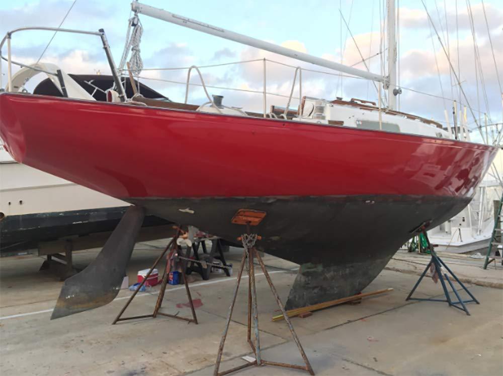 Totalboat Wet Edge Topside Paint Kingston Gray Gallon