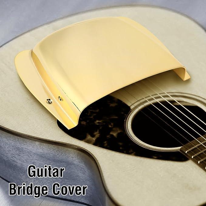 Amazon com: Pickup Cover Zinc Alloy Pickup Bridge Plate