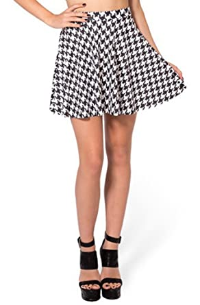 4a81389cb0e Lucky Girl LA - Houndstooth Mini-Skirt (L