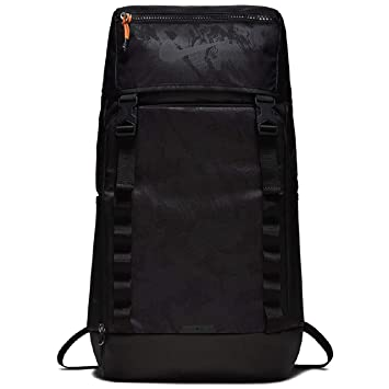 a98cab76cf Nike 15 Ltrs Black Black Black Casual Backpack (BA5815-010)  Amazon.in   Bags