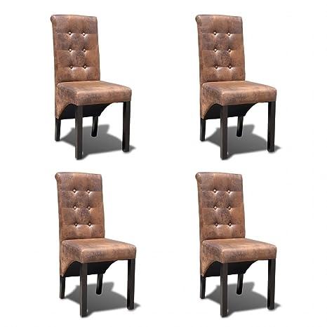 dondans - Muebles sillones de Cocina y Comedor, 4 Piezas ...