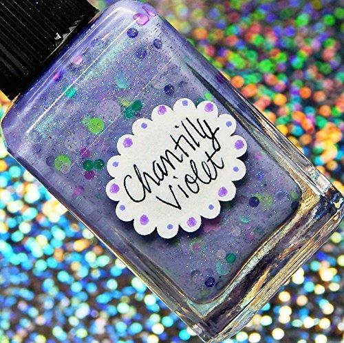Lynnderella Limited Edition—Pastel Violet Shimmerella Nail Polish—Chantilly Violet by Lynnderella