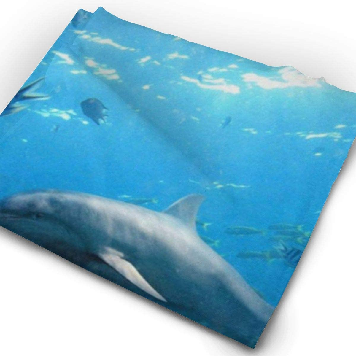 Dolphin Island Fantasy Animals Face Mask UV Sun Mask Dust Wind Neck Gaiter Magic Bandana