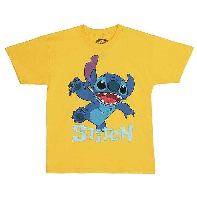 24f5b1018b7 Amazon.com  Disney Lilo and Stitch Comin  at Ya Youth T-Shirt  Clothing