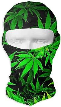 Wind//Sun//UV Protection//Dust Neck Gaiter 19.7x9.85 Inches 50x25cm Stretchable Bandana Headbands Cool Cannabis Weed Leaves Versatile Face Mask Shields Casual Balaclava Headwear