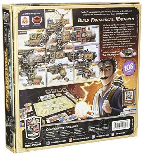 Steampunk Rally Board Game 4