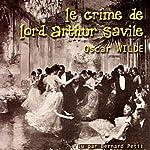 Le crime de Lord Arthur Savile | Oscar Wilde