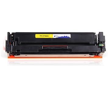 PRINT-RITE CF402A Cartucho de tóner Compatible para HP Color ...