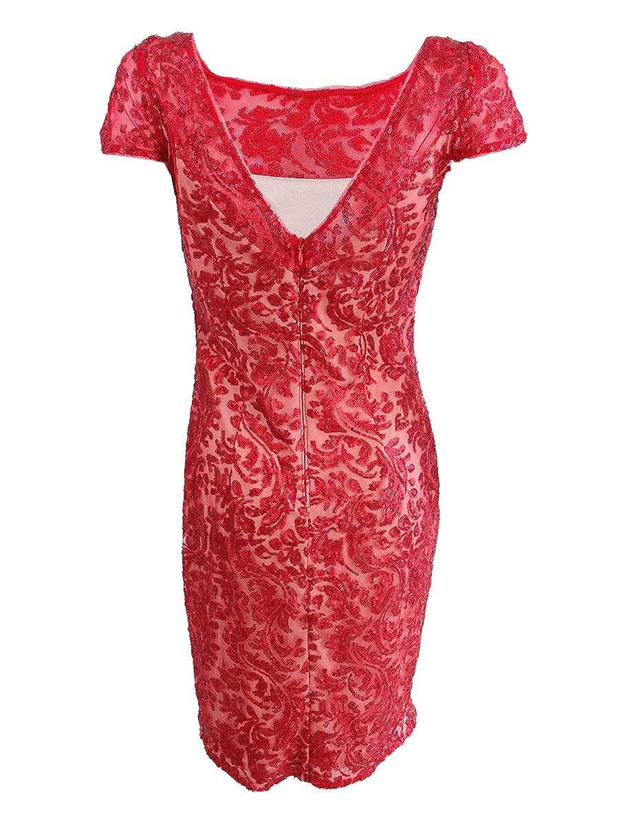 Calvin Klein Womens Sequined Sheath Dress At Amazon Womens