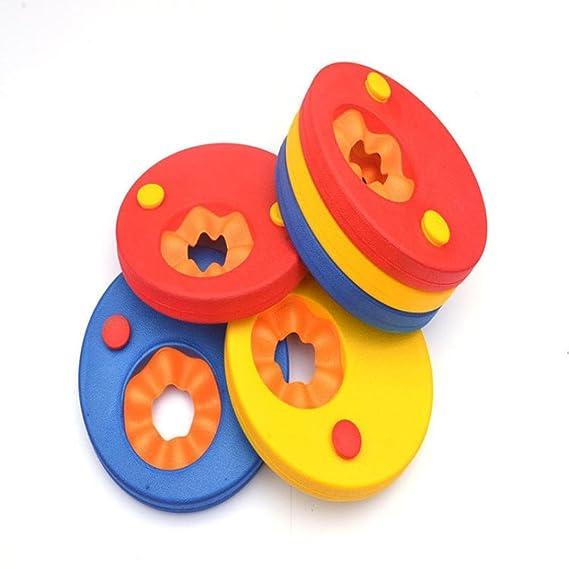 gaddrt discos, nadar Flotador infantil brazo, brazo marca Set Natación Brazaletes (6pcs/set): Amazon.es: Hogar