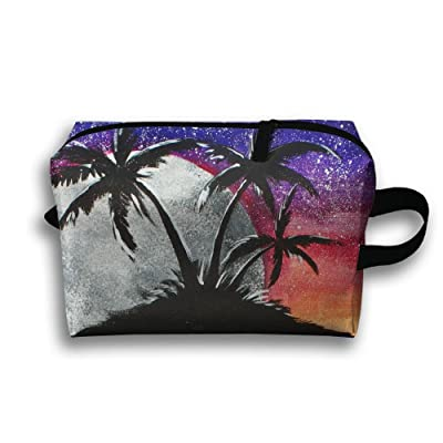 GNMB Cool Shark Island Portable Travel Home Lingerie Bra Cosmetic Make-up Storage Bag Handbag