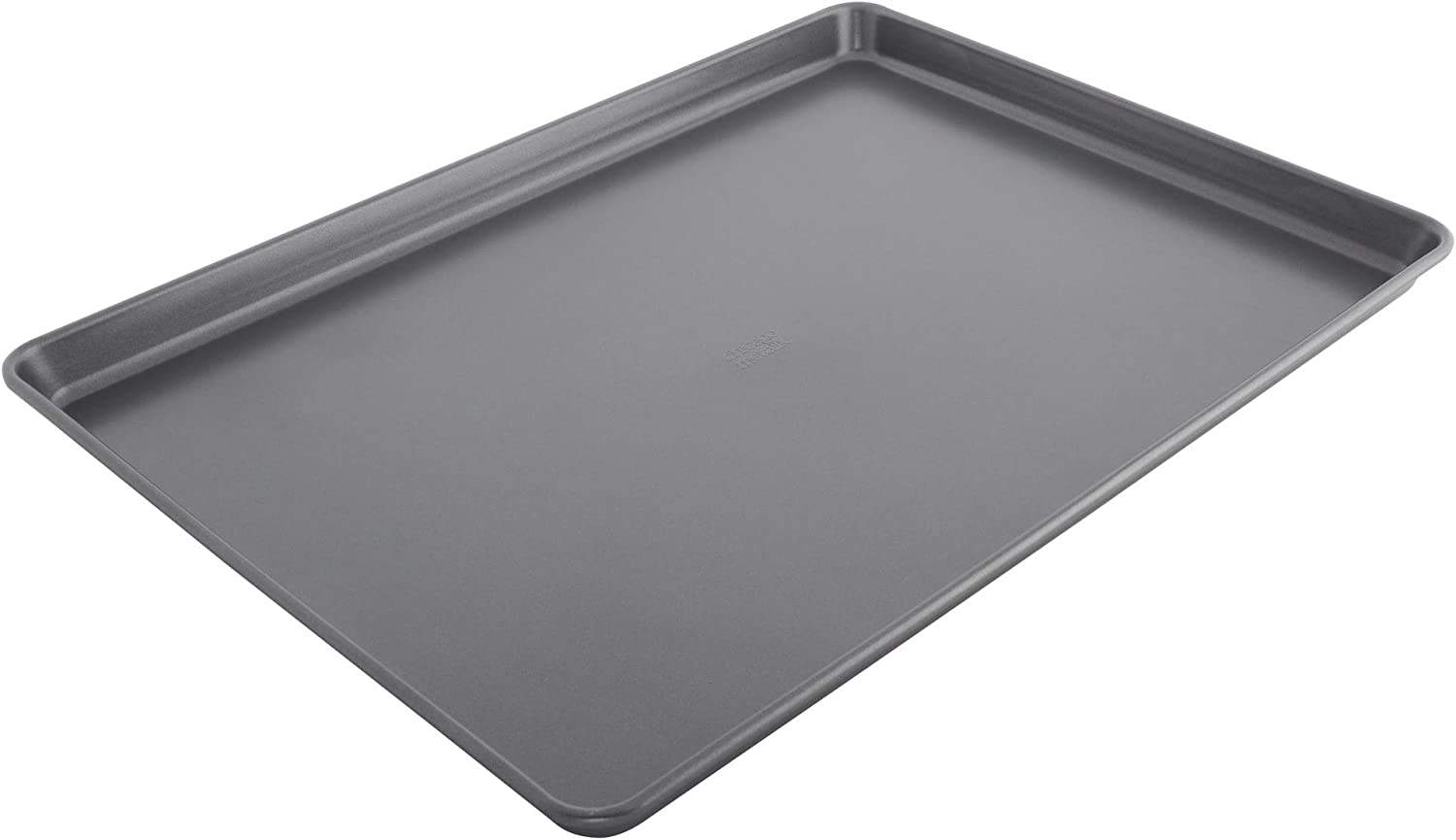 "Chicago Metallic 5233075 Non-Stick Extra Large Cookie Baking Sheet, 15""-by-21"", Metallic Gray"