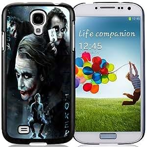 Unique Galaxy S4 Case Design with Joker Samsung Galaxy S4 SIV S IV I9500 I9505 Black Cell Phone Case hjbrhga1544