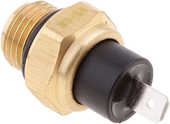 Sharplace Temperaturfühler Thermischer Schalter Für Motorrad Ventilator M16 85 Auto