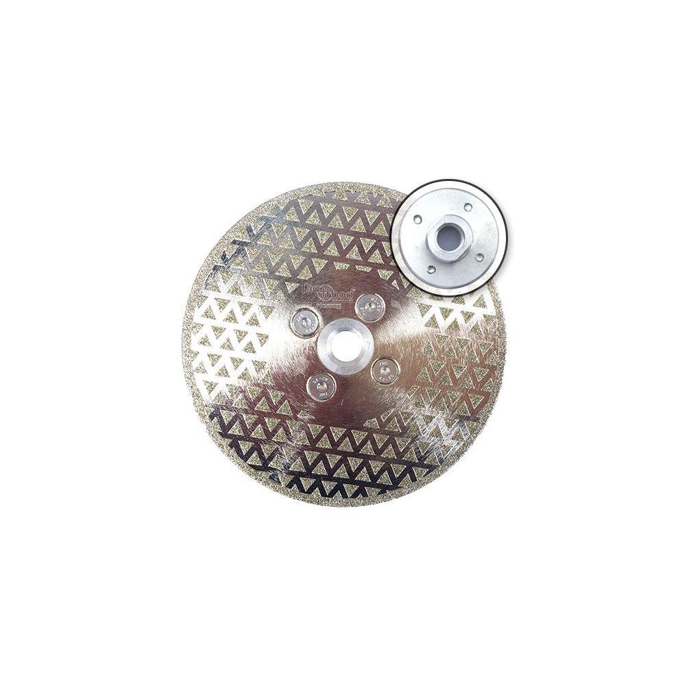 Diamwood Platinum - Disque diamant à couper et poncer pro DARK KNIGHT D. 125 x M14 x Ht. 3 mm - marbre, PVC, tuile - Diamwood Platinum