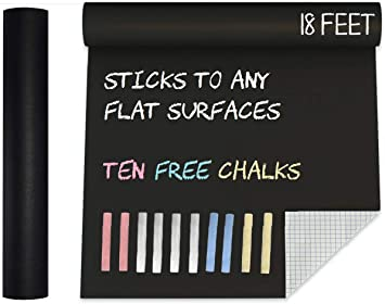 47 White Chalks /& Coloured Chalk Sticks Set Blackboard Kids Art Craft School