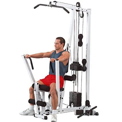 Amazon body solid exm s single stack home gym sports